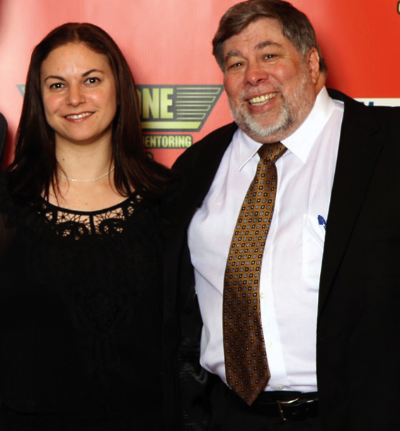 Lisa with Steve_Wozniak